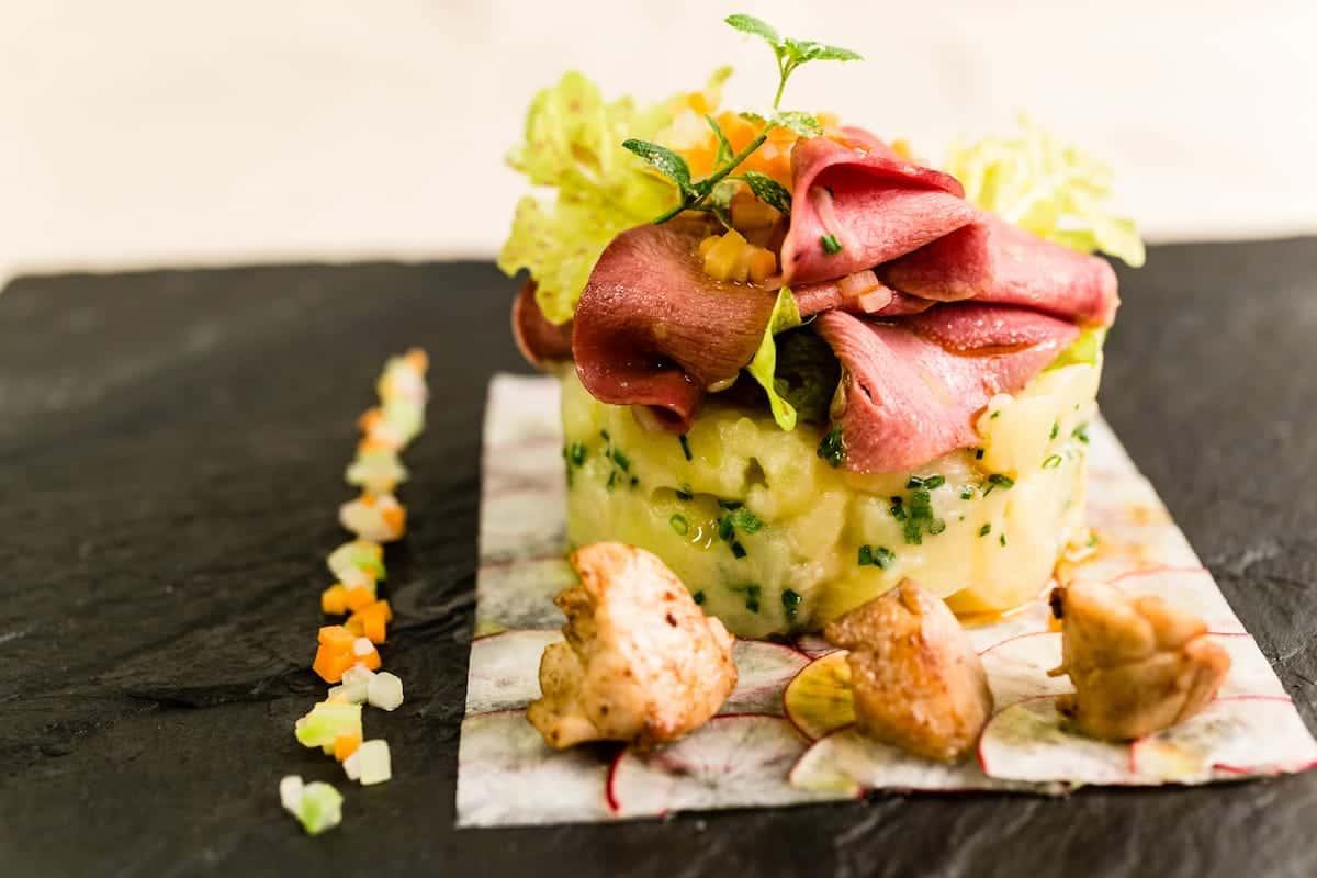 Seehof Keller | Restaurant Kartoffel Fleisch - Potato Meat