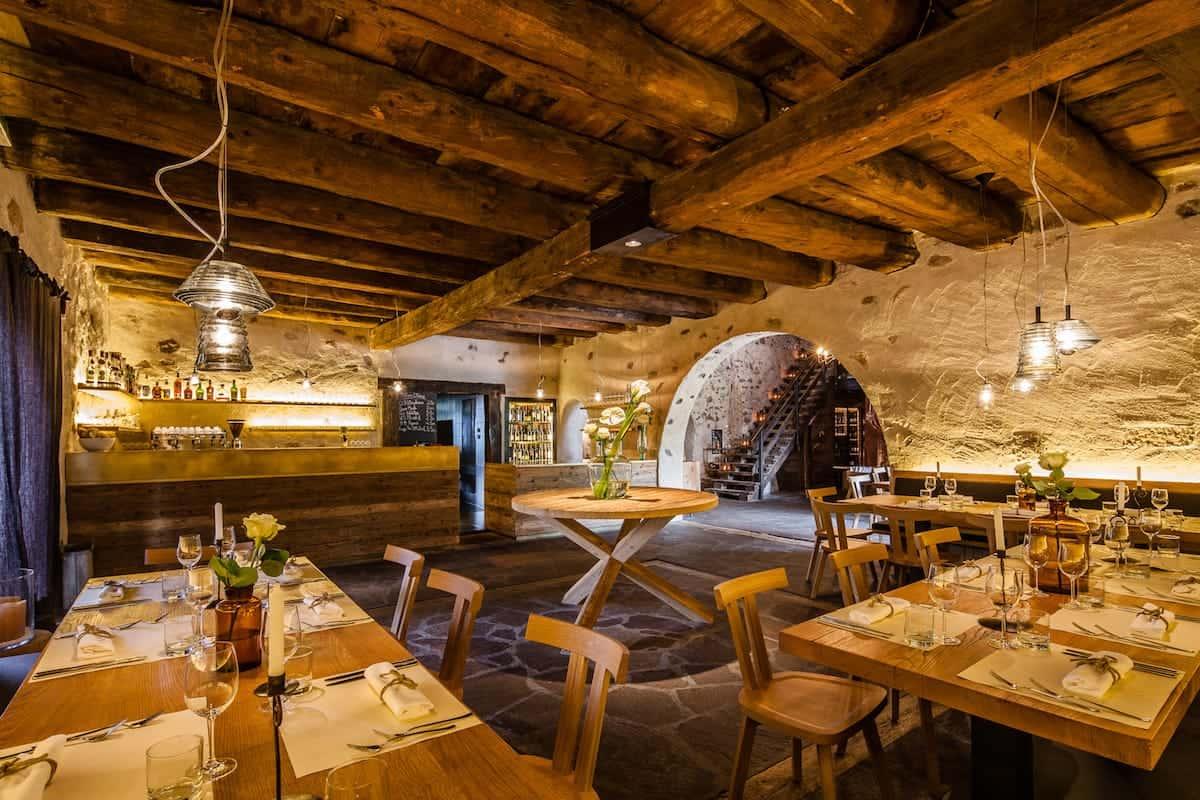 Seehof Keller | Restaurant Innen Holz - Inside Wood