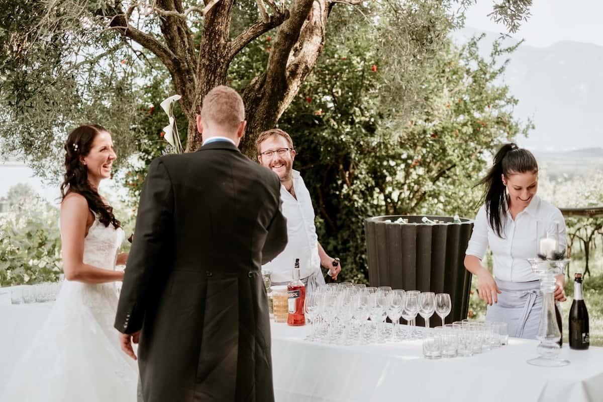 Seehof Keller | Hochzeit - Wedding Aperitivi