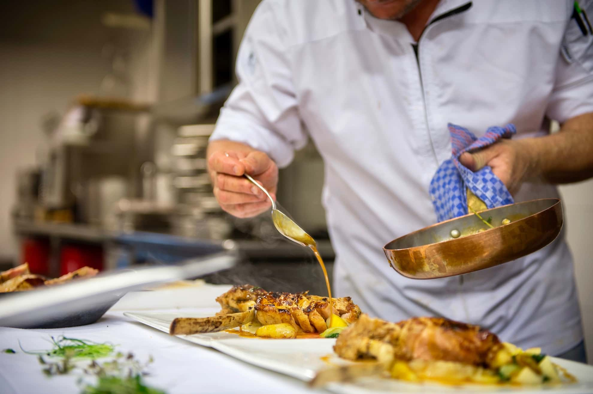Seehof Keller | Restaurant Fleischgericht - Meat Dish